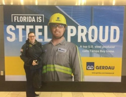Americas' Team on Tour 2017 @ Gerdau Steel